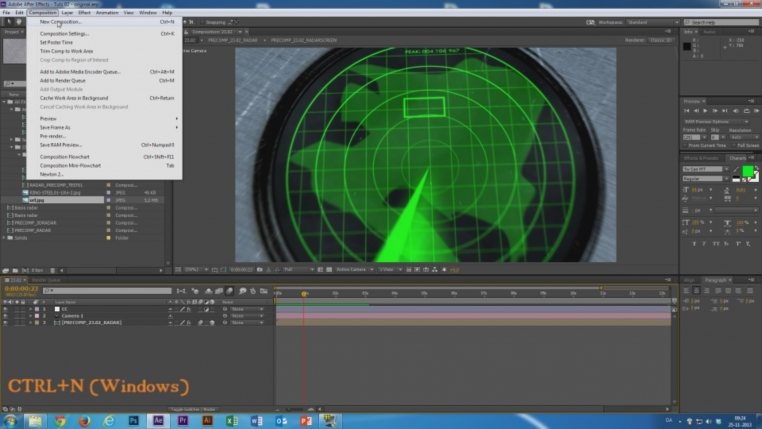 Tutorial - Lave en radar i After Effects